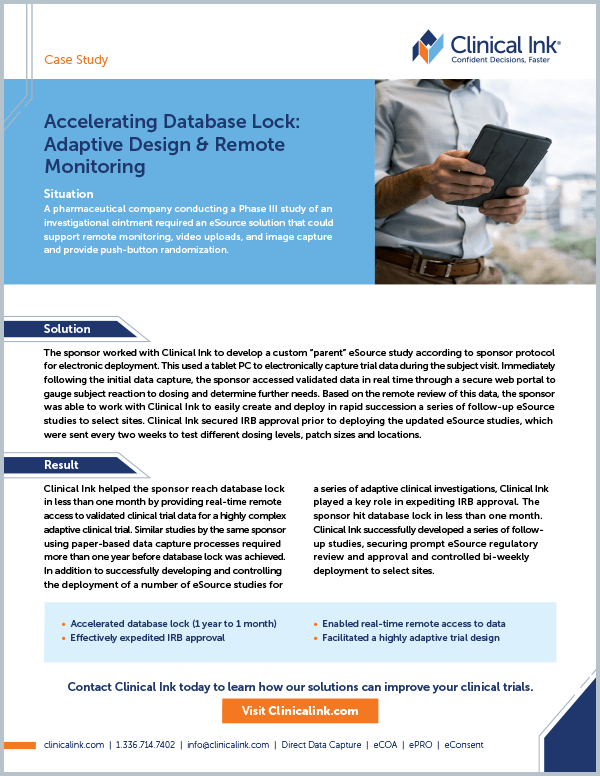 Clinical-Ink-Accelerating-Database -Lock-CS